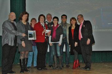 Fritz Weinauer, Evelyn Korrak, Karl Kratky mit Gattin, Ingrid Höllerer, Karin & Günther Frank, Silvia Schweighofer, Karl J. Mayerhofer