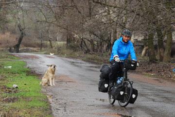 voyage à vélo en azerbaïdjan, bike touring