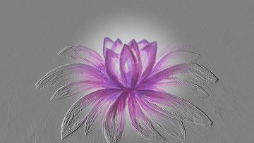 Lotus - Soul Healing Art - Seelen Heil Kunst -  Seelenbilder Seelenheilbilder Heilbilder Energiebilder von  www.mondavid.jimdo.de