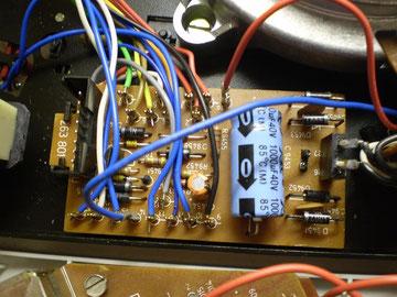 Stromversorungsplatine 741Q
