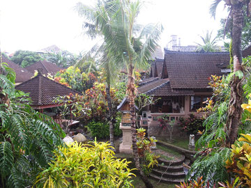 Vista dalla casa della Guci Guesthouse in Ubud (Photo by Gabriele Ferrando)