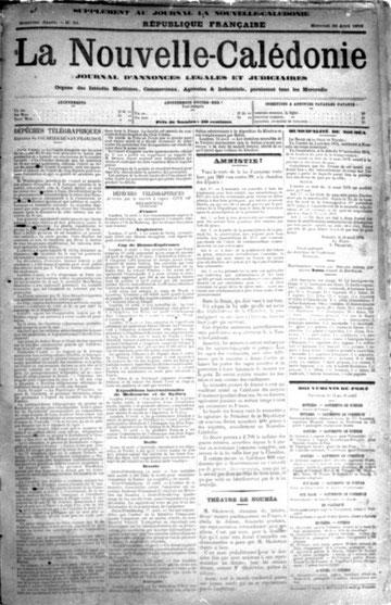La Nouvelle-Calédonie (N° du 30 avri 1879)