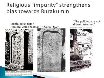 Im religiösen Sinne waren sie unrein....