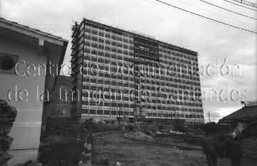 Construcción de la Residencia. 1968