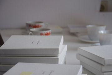 専用Boxに入った数々のアクセサリー類。お茶を頂きながらじっくり見せて頂きました