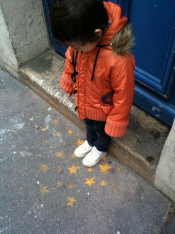 paris,snap,こども、パリ、オシャレスナップ