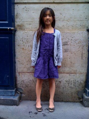 パリ、スナップ、子供