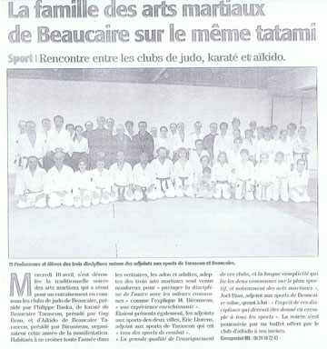 le club de Bellegarde a Beaucaire