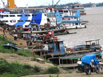 Hafen von Pucallpa