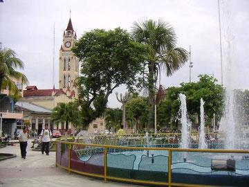 Hauptplatz von Iquitos
