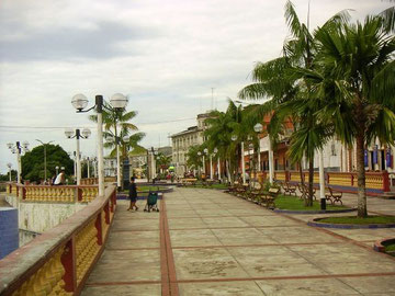 Uferpromenade von Iquitos