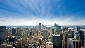Manhattan vom Top of the Rock