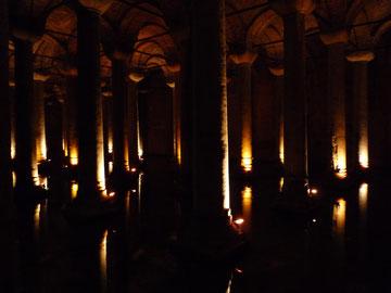 Byzantijnse Basilica Cisterne