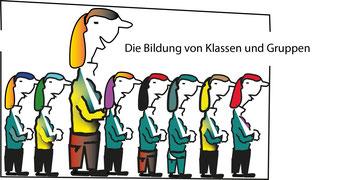 Die Bildung von  Klassen und Gruppen beschreibt Katharina Bachmann   Bild:spagra