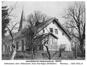 Das Pfarrhaus vor 1945