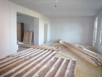 2010  Die Grundüberholung der Innenräume.