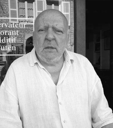 Louis Flamel, Vezélay 2018. Photo: Dagmar Sollmann