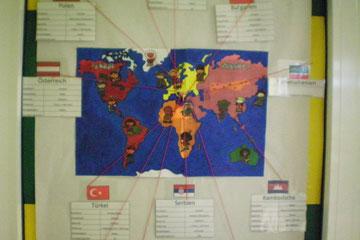 aus diesen Ländern kommen unsere Hortkinder