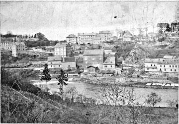 Die Kirchhofsmühle vor 1900.