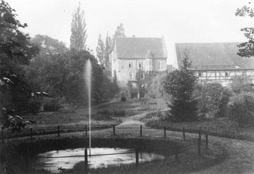Park in den 1920er Jahre, Foto: Nachlass Benno von Heynitz