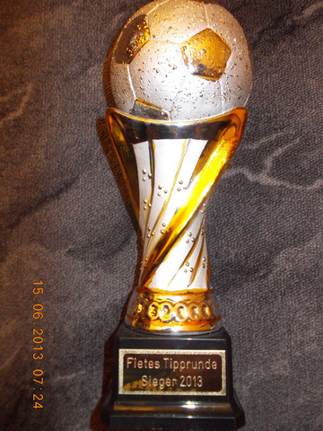 Der Sieger-Pokal 2013
