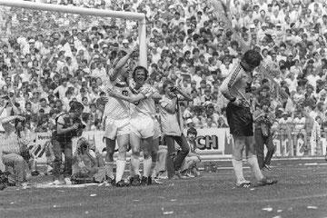 Horst Hrubesch hat das 1:0 erzielt