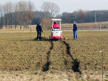 Untersuchung der Bodenbeschaffenheit