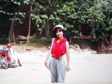 あの頃の雅恵 ― マレーシア ランカウイ島にて 1991年12月