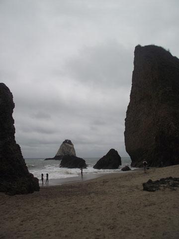 San Lorenzo beach Ecuador
