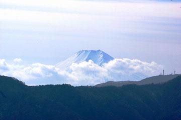 浅間嶺からの富士山眺望