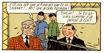 Hergé y Tchang.
