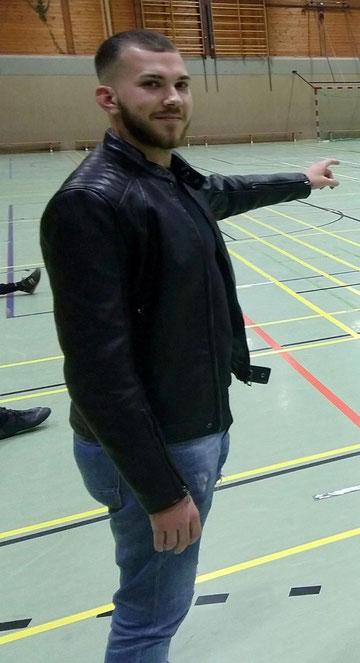 Alessandro Wiegand, neuer Trainer der Viktoria © Fabian Seck