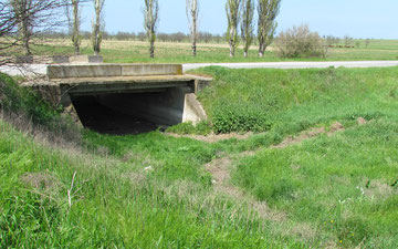 Bridge over what used to be the Bulganek