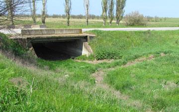 Bridge over what used to be the Bulganek