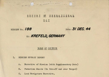 Deckblatt des Mission Report 188 (pfd-download weiter unten)