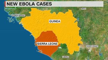 6月に入り、ギニアとシエラレオネではエボラ出血熱の感染者が再び増加傾向にある