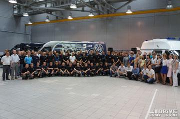 Празднование 5-летнего юбилея компании. Завод Луидор. 16/07/2013