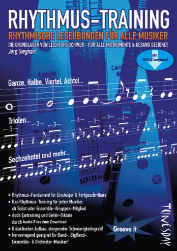 Rhythmus-Training - Lehrheft mit CD für alle Musiker - nur 9,95 EUR !