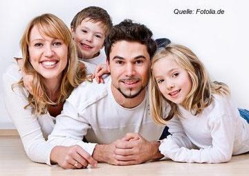 Ein intaktes Familienleben legt das beste Fundament für soziale Kompetenz im späteren Leben.