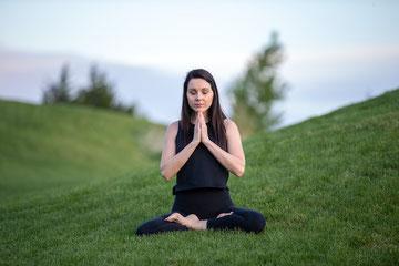 Meditation in der freien Natur ist ein besonderes Erlebnis