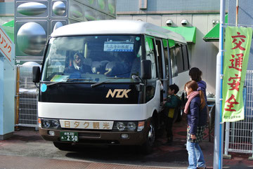 送迎のバスです。