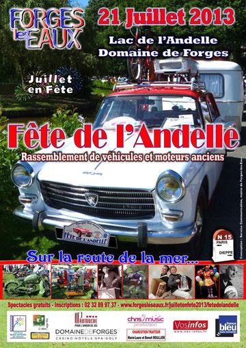 Fête de l'Andelle à Forges-les-Eaux