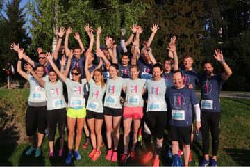 TV-Moderator Thomas Odermatt  rennt mit 19 Promis am Zürich Marathon 2018 für einen guten Zweck