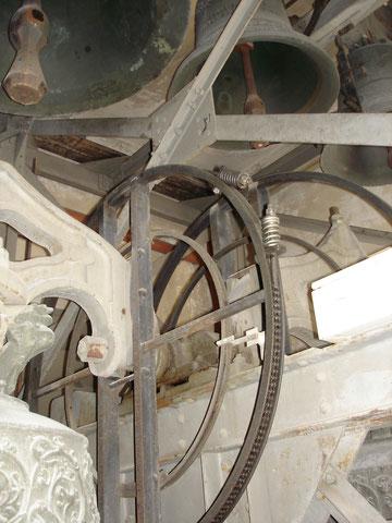 Eiserner Glockenstuhl von 1899