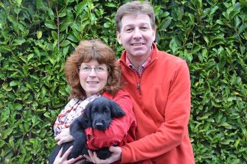 Christel und Uwe mit Enzo