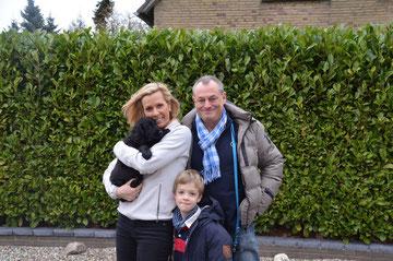 Claudia, Markus, Tim mit Ben
