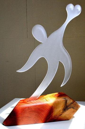 Objekt-Skulptur von Kai Wolf