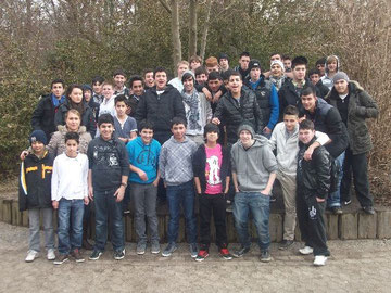 Schüler mit Migrationshintergrund an der KGS