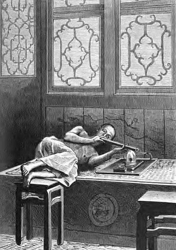 1841, la guerre de l'opium : un crime contre l'humanité.