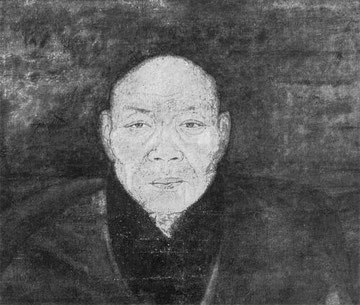Portrait of a priest.   Yüan or Early Ming Period.